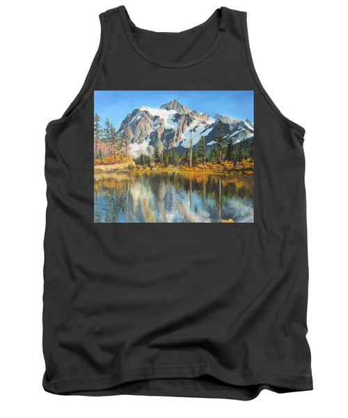 Fall Reflections - Cascade Mountains Tank Top