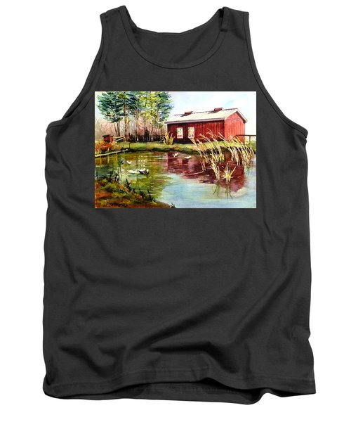 Green Acre Farm Tank Top