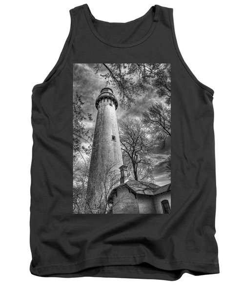 Grosse Point Lighthouse Tank Top