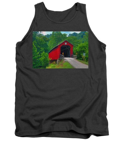 Hune Covered Bridge Tank Top