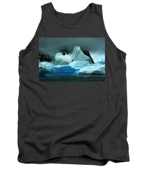 Tank Top featuring the photograph Iceberg by Amanda Stadther
