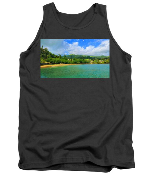 Island Of Maui Tank Top by Michael Rucker