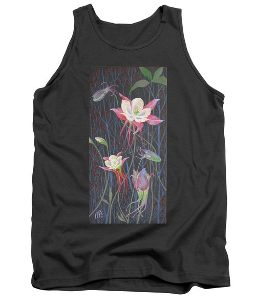 Japanese Flowers Tank Top