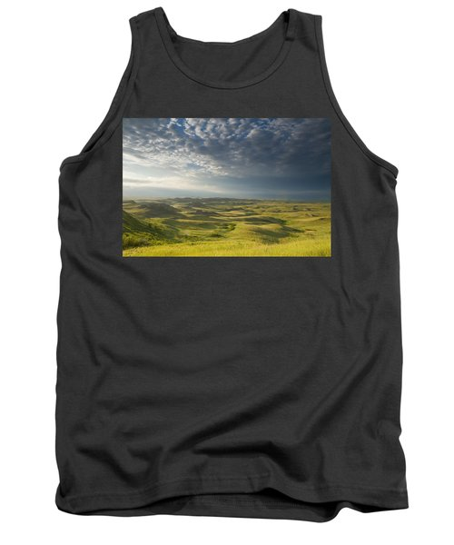 Killdeer Badlands In The East Block Of Tank Top by Dave Reede
