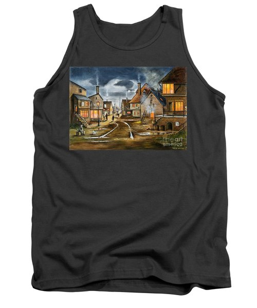 Lady At The Window Tank Top