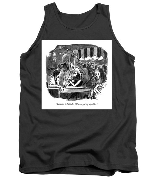 Let's Face Tank Top