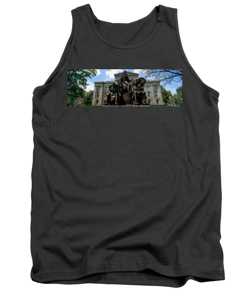 Low Angle View Of Statue Tank Top