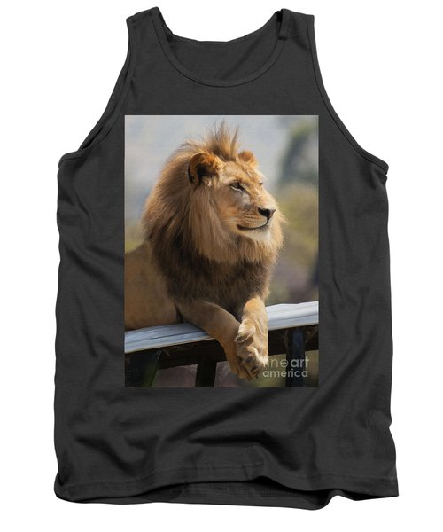 Majestic Lion Tank Top
