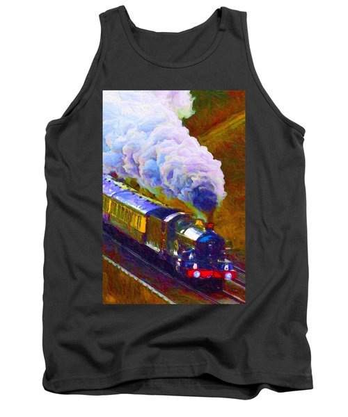 Making Smoke Tank Top