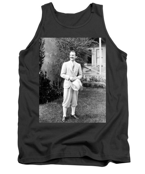 Tank Top featuring the photograph Men's Fashion, C1925 by Granger
