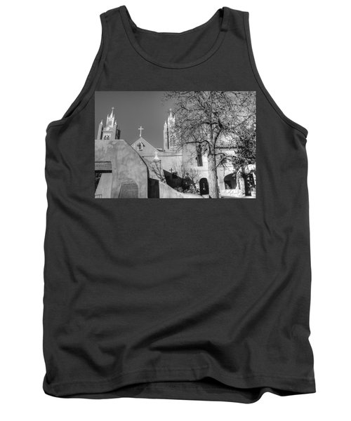 Mission In Black And White Tank Top