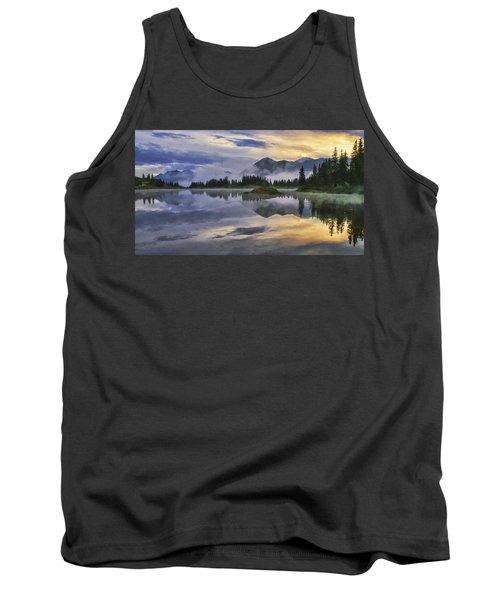 Molas Lake Sunrise Tank Top