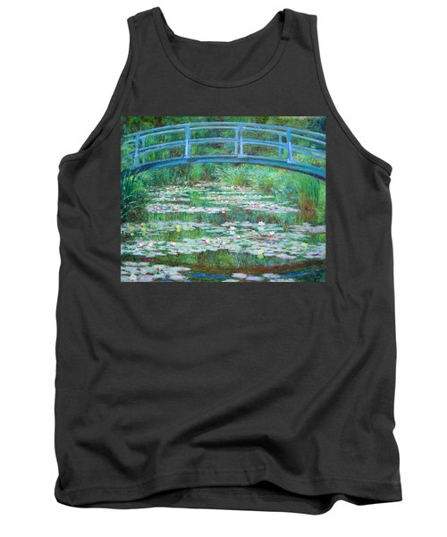 Tank Top featuring the photograph Monet's The Japanese Footbridge by Cora Wandel