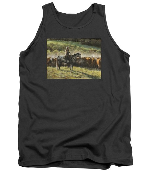 Morning In The Highwoods Tank Top by Kim Lockman