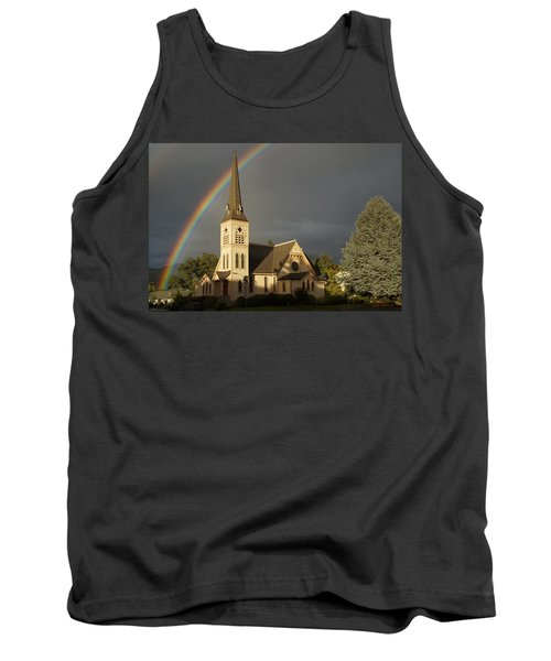 Newman United Methodist Church Tank Top by Mick Anderson