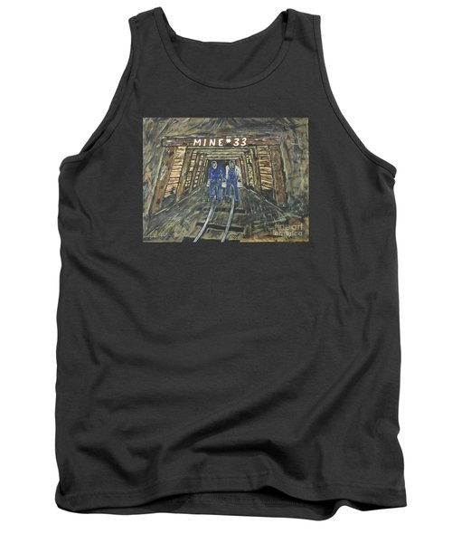 No Windows Down There In The Coal Mine .  Tank Top by Jeffrey Koss