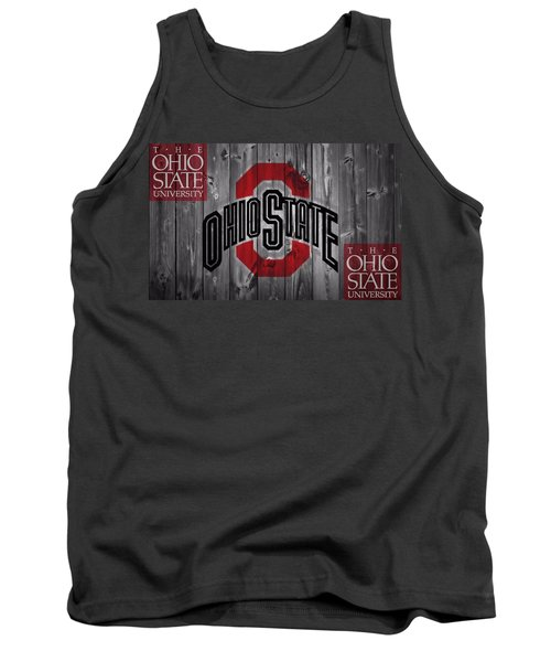 Ohio State Buckeyes Tank Top by Dan Sproul