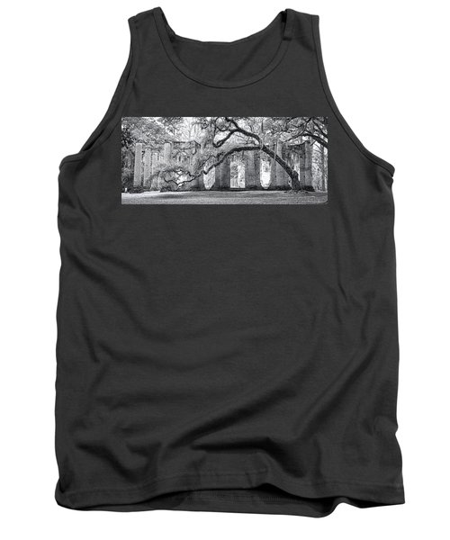 Old Sheldon Church - Side View Tank Top