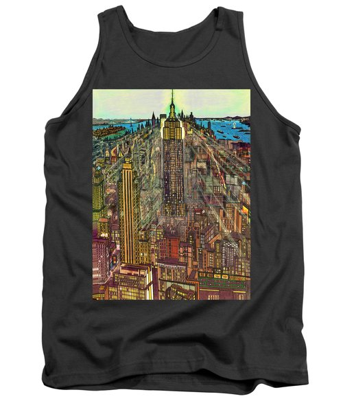 New York Mid Manhattan 1971 Tank Top