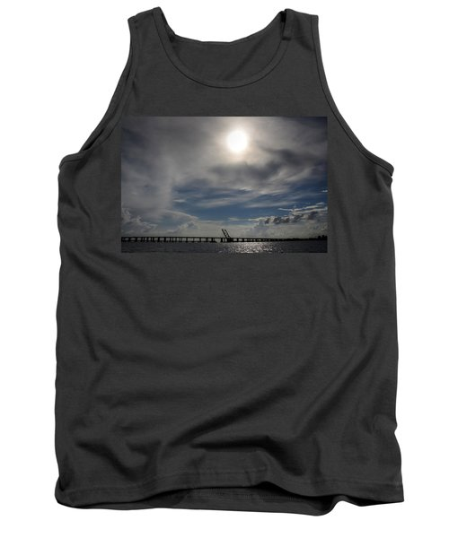 Tank Top featuring the photograph Pass Manchac by Charlotte Schafer