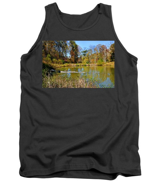 Peaceful Place Tank Top by Kristin Elmquist