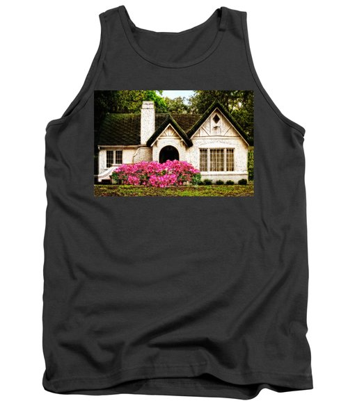 Pink Azaleas - Old Southern Charm By Sharon Cummings Tank Top