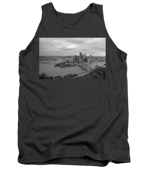 Pittsburgh - View Of The Three Rivers Tank Top