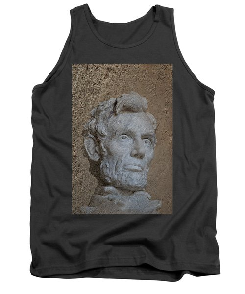 President Lincoln Tank Top by Skip Willits