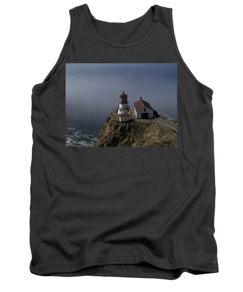 Pt Reyes Lighthouse Tank Top by Bill Gallagher