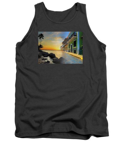 Puerto Rico Collage 4 Tank Top by Stephen Anderson