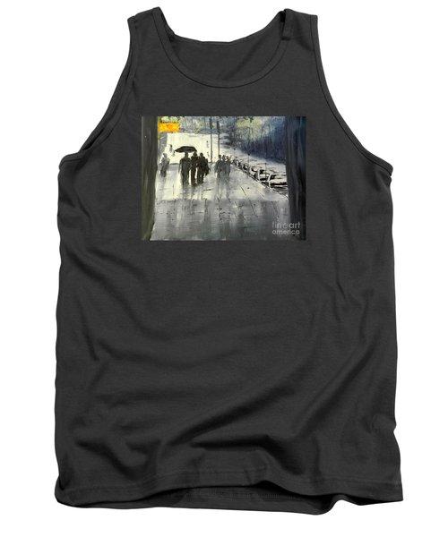 Rainy City Street Tank Top