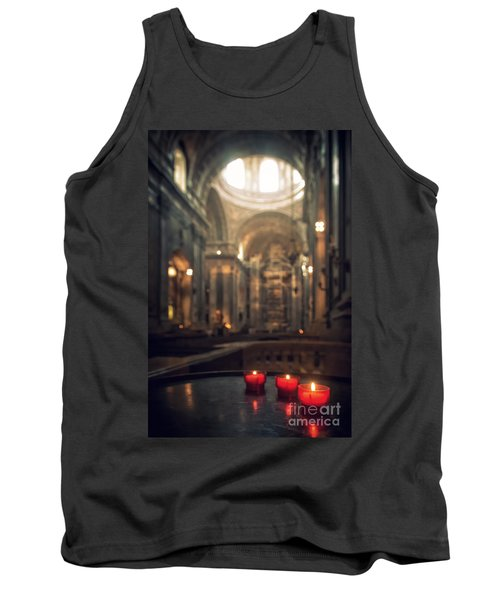 Red Candles Tank Top