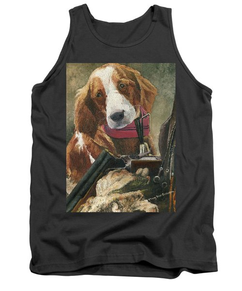 Rusty - A Hunting Dog Tank Top