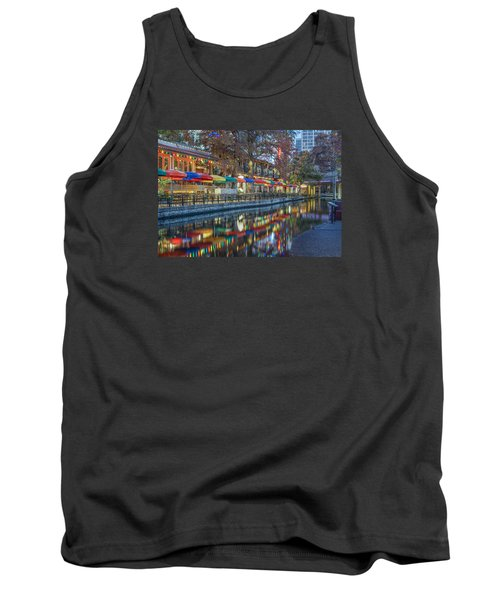 San Antonio Riverwalk Tank Top