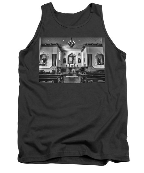 Tank Top featuring the photograph San Carlos Cathedral by Ron White