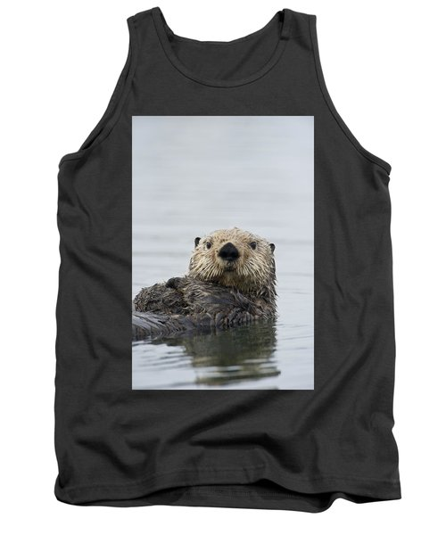 Sea Otter Alaska Tank Top by Michael Quinton