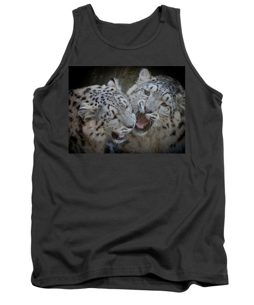 Snow Leopard Cubs Tank Top