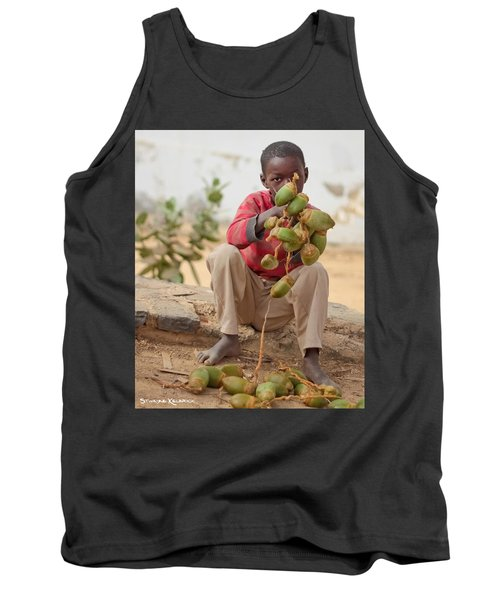 Tank Top featuring the photograph Somewhere Else On Goree Island  by Stwayne Keubrick