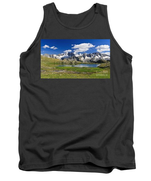 Tank Top featuring the photograph Strino Lake - Italy by Antonio Scarpi