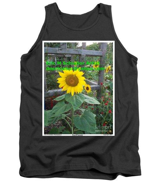 Sunflower Tank Top by Eric  Schiabor