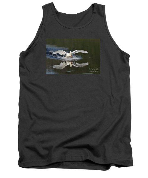 Swan Landing Tank Top