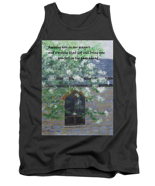 Sympathy Card With Church Tank Top