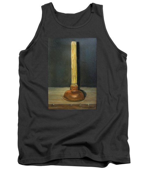 The Lone Plunger Tank Top by Donna Tucker