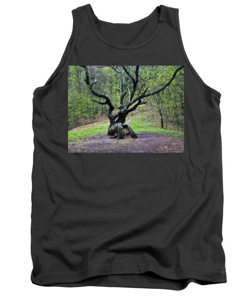 Tree In The Forest Tank Top