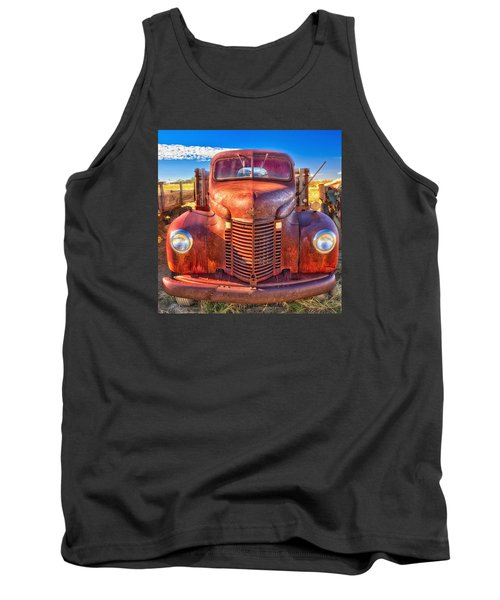 International Rust Tank Top