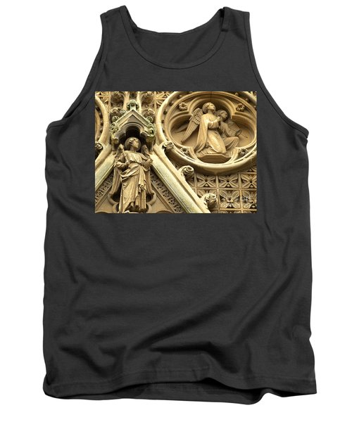 Tank Top featuring the photograph Truro Cathedral by Rachel Mirror