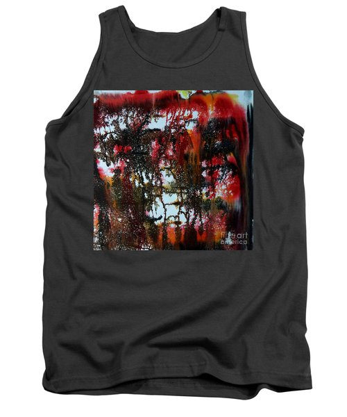 Red Forest Tank Top