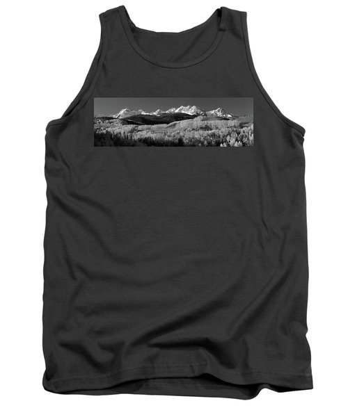 Usa, Colorado, Rocky Mountains, Aspens Tank Top