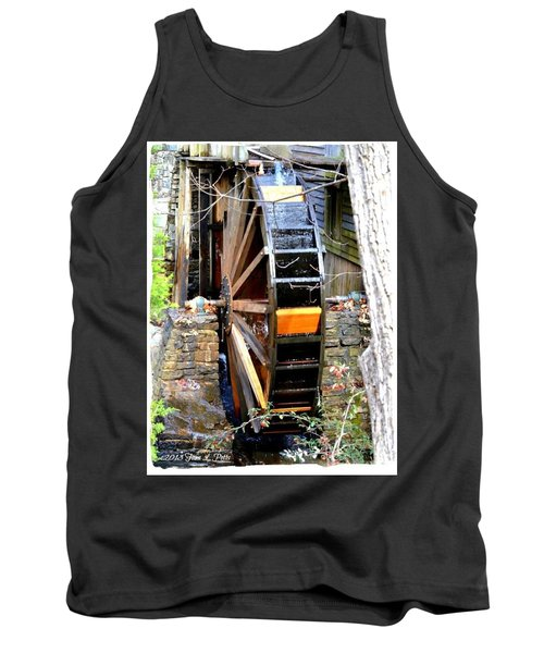 Tank Top featuring the photograph Water Wheel by Tara Potts