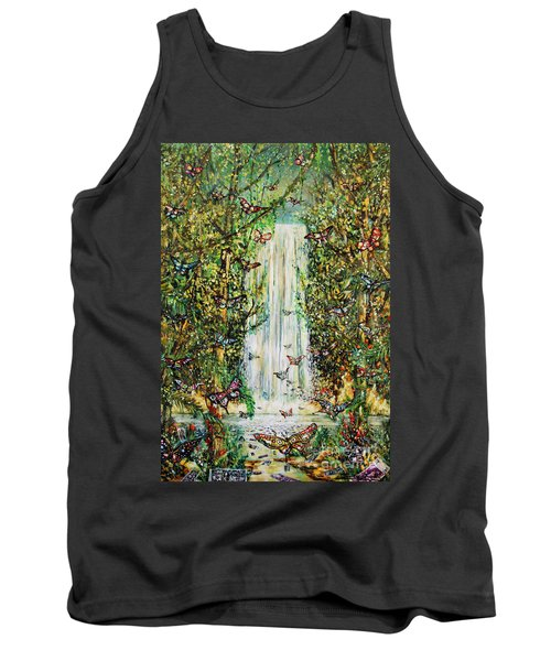 Waterfall Of Prosperity II Tank Top